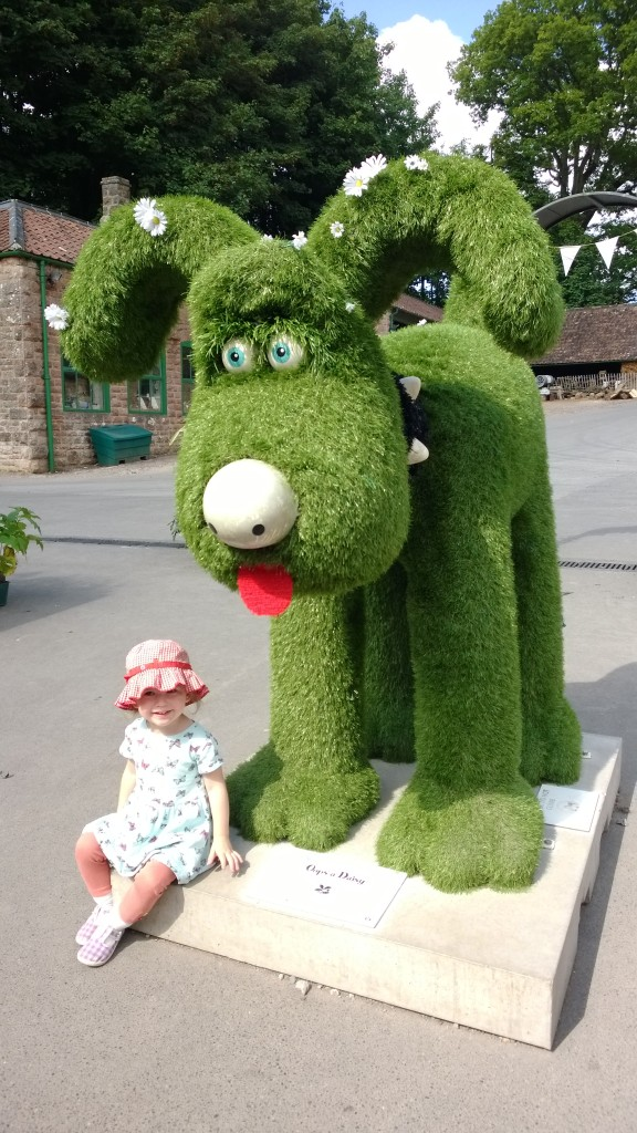 Gromit at Tyntesfield