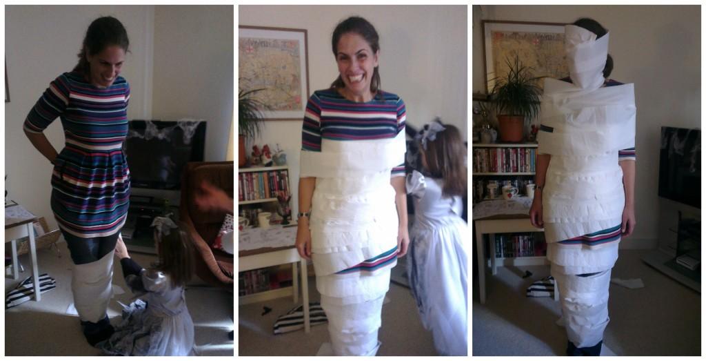 Mummy halloween game