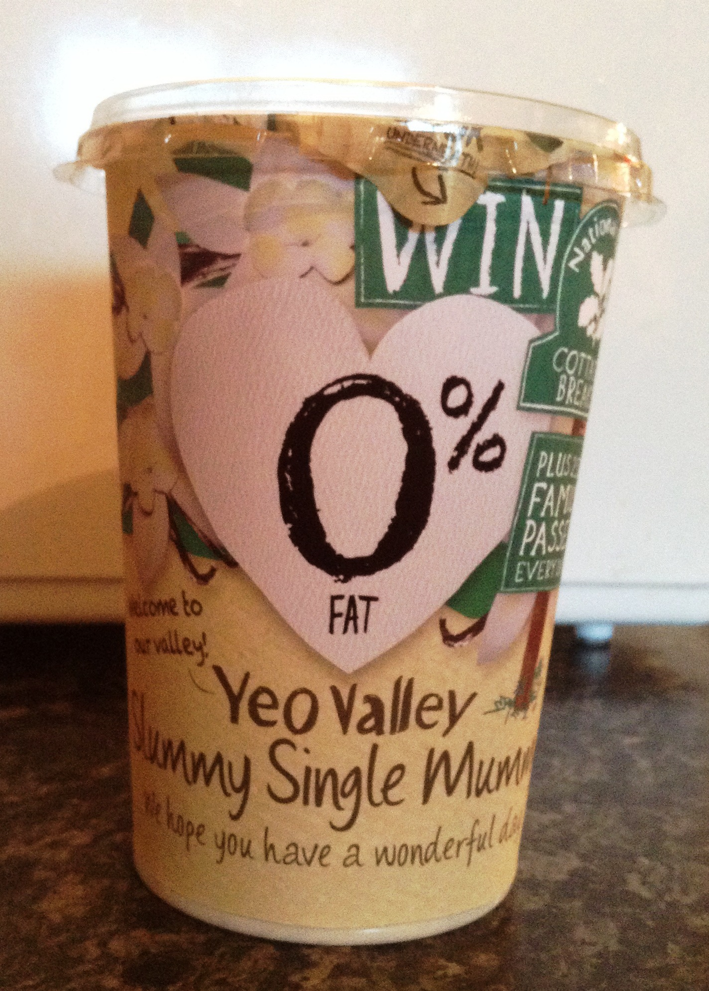 Yeo Valley yogurt