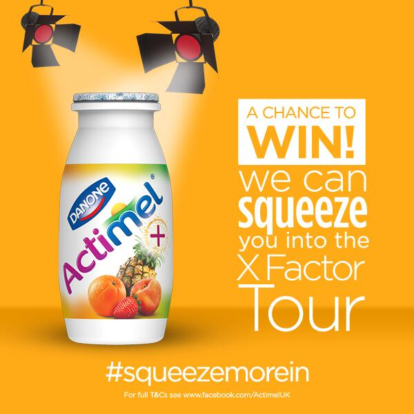 Actimel squeeze more in
