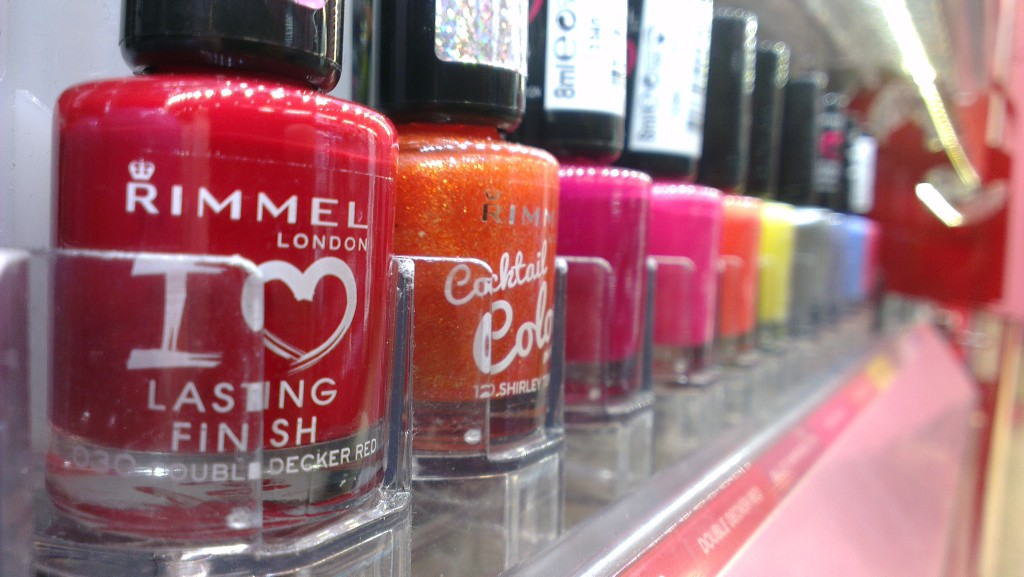 Rimmel nail varnish