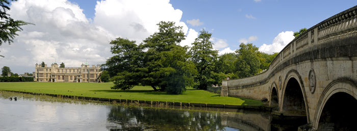 Audley end house and gardens