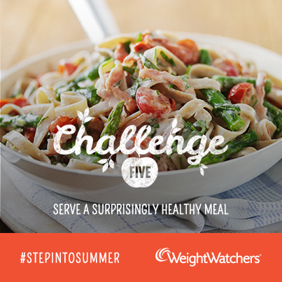 Weight Watchers #StepIntoSummer challenge