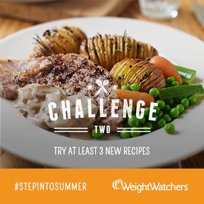 Weight Watchers #stepintosummer challenge