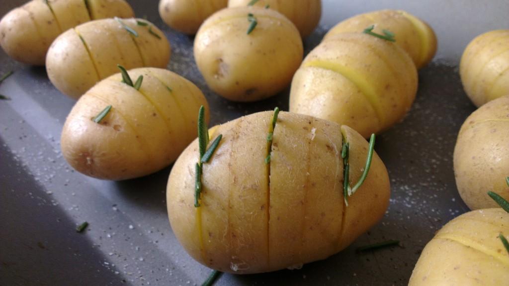 Weight Watchers roast potatoes