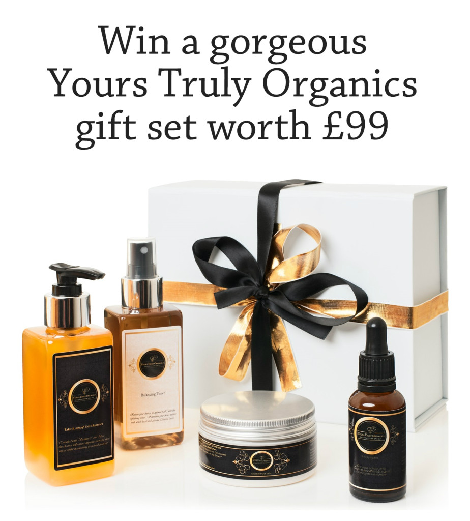 Yours Truly Organics gift set competition
