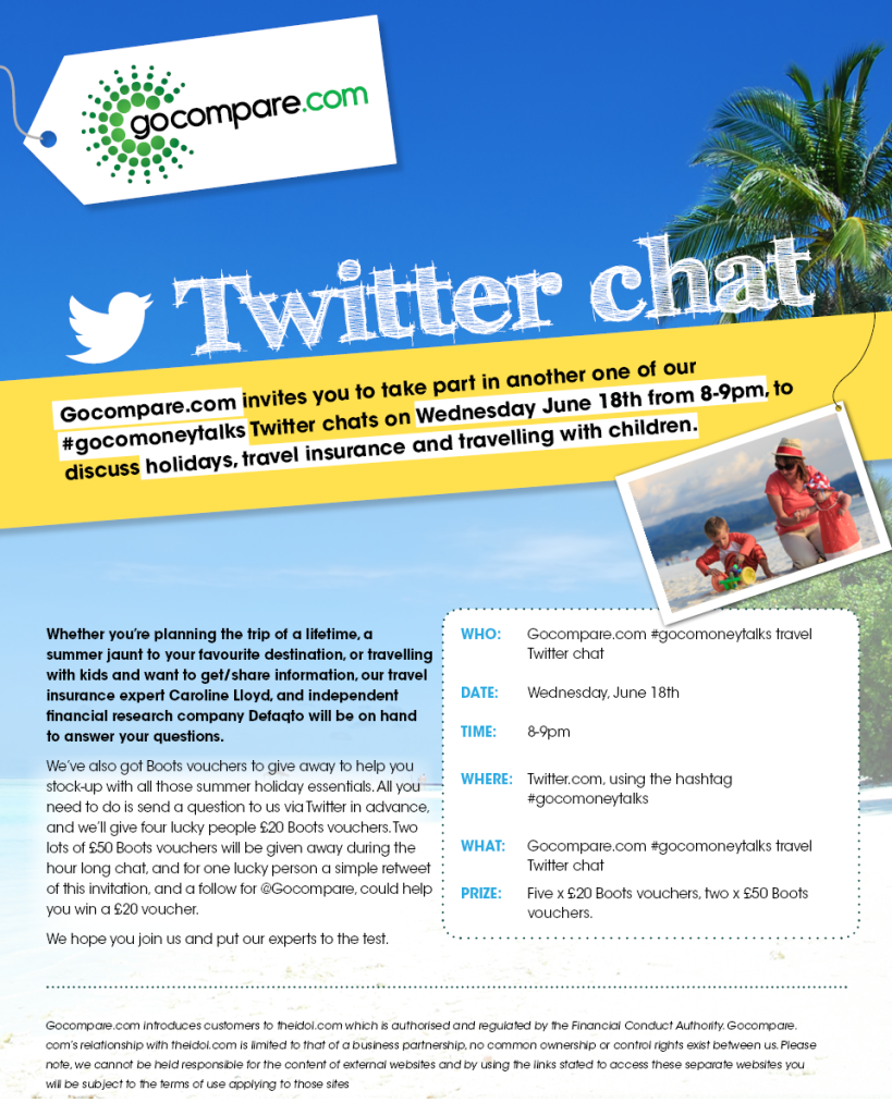 Gocompare Twitter party