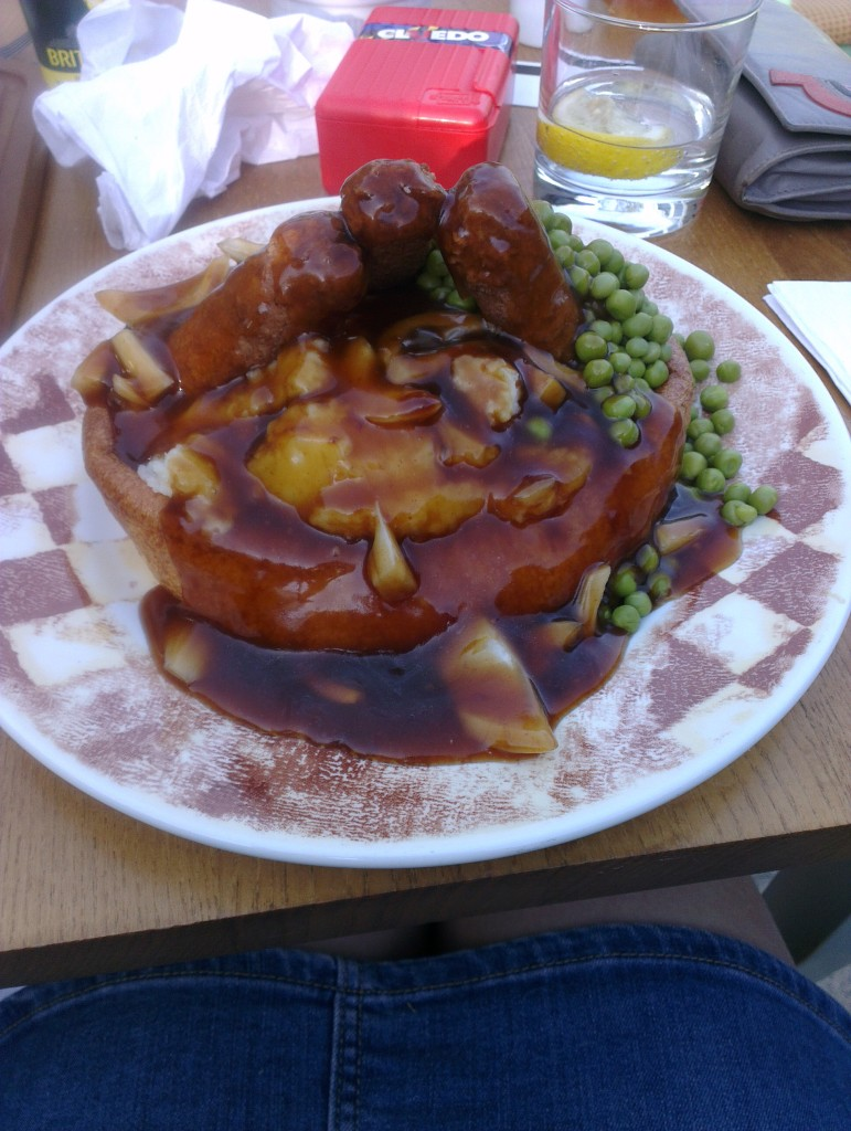 Giant Yorkshire pudding