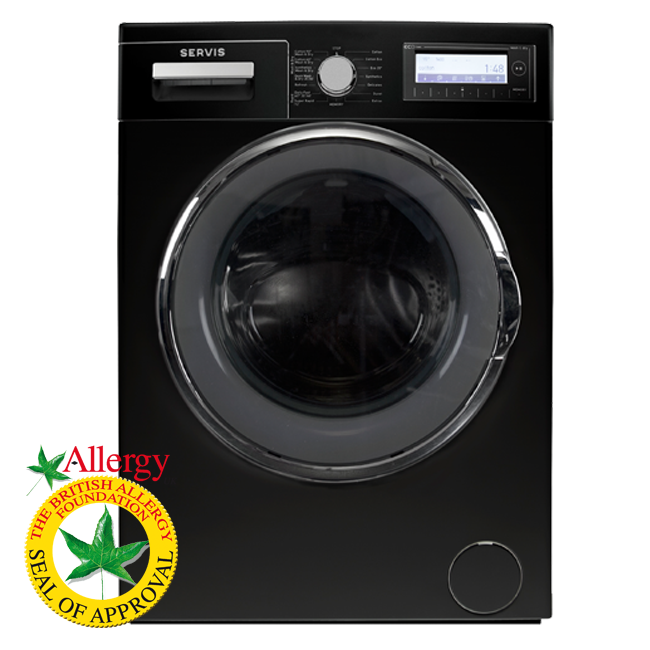 Servis FG washing machine black