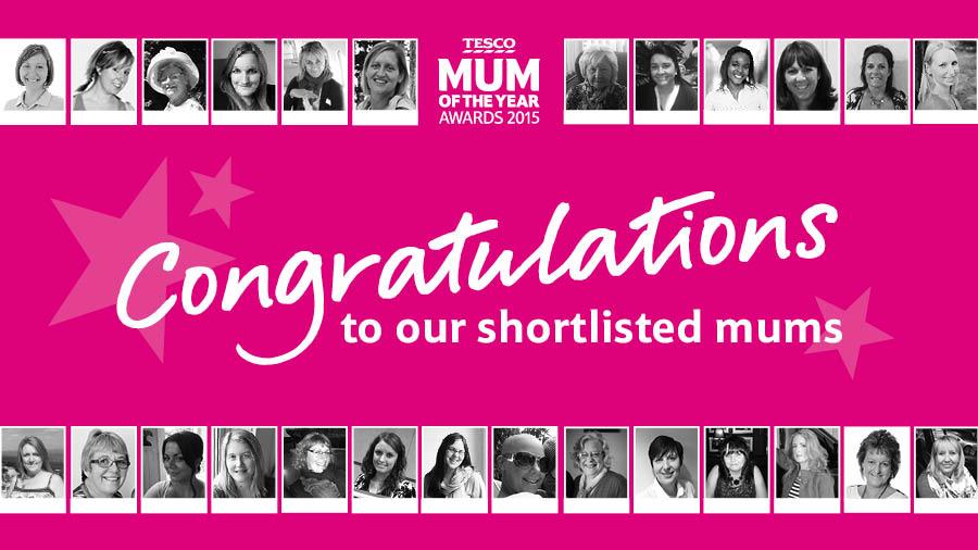 Tesco Mum of the Year Awards 2015
