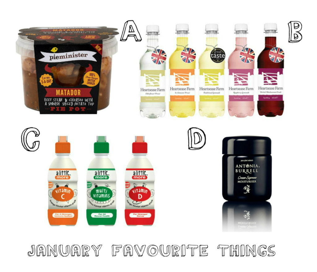 January favourite things