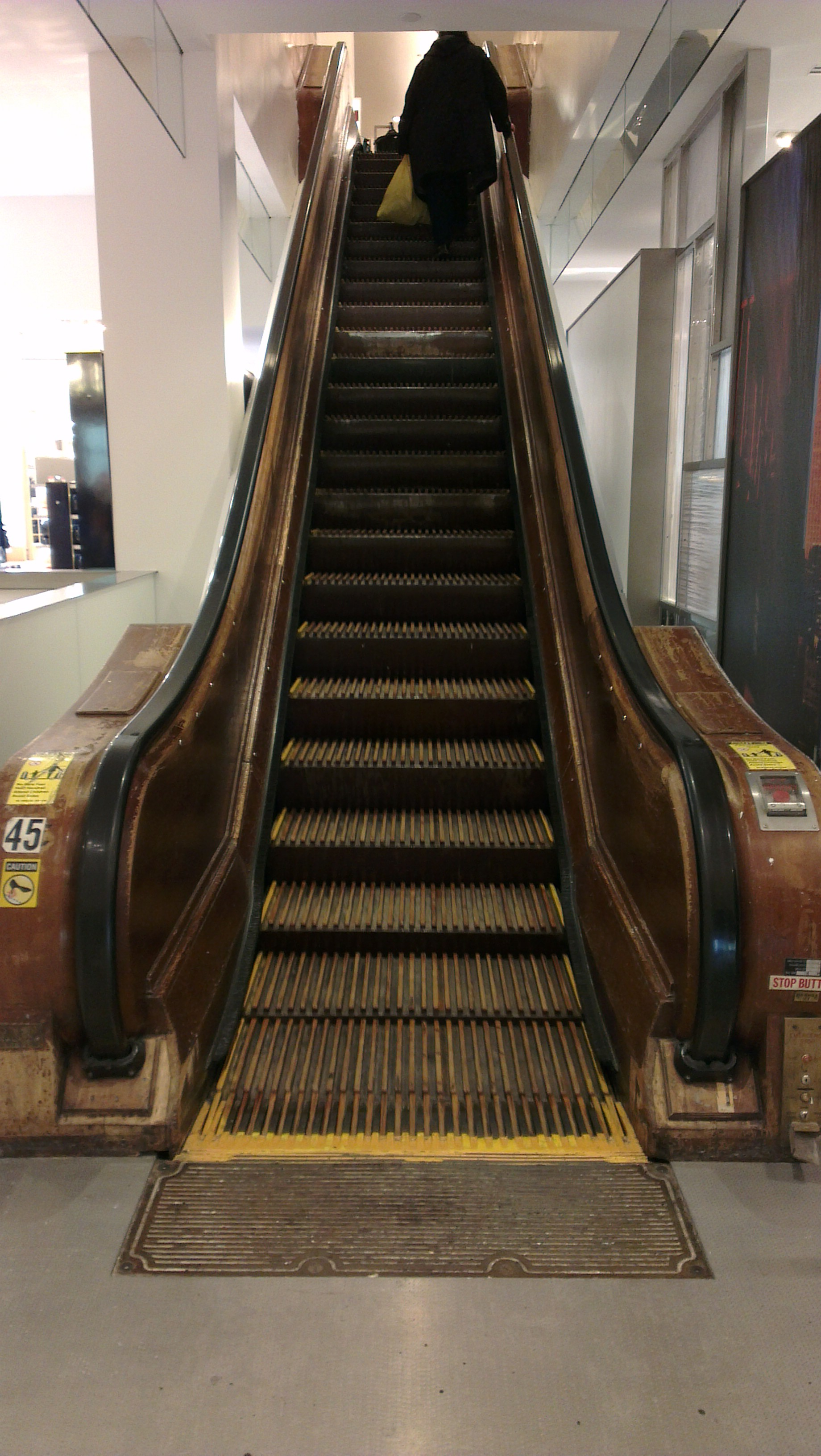 Things to do in new york ride the wooden escalators in for Exciting things to do in nyc