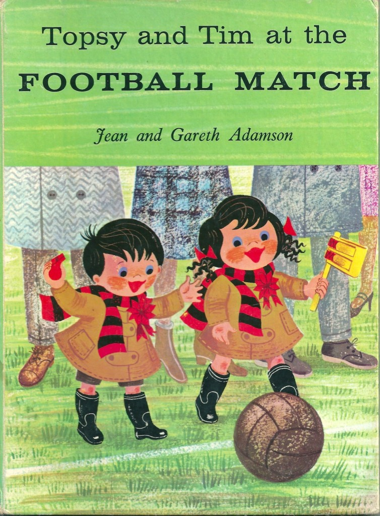 Topsy and tim at the football