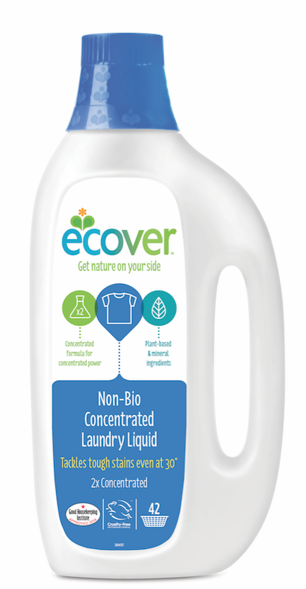 Does Ecover washing liquid work?