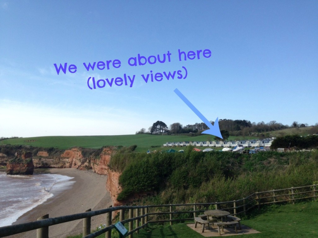 Ladram Bay review