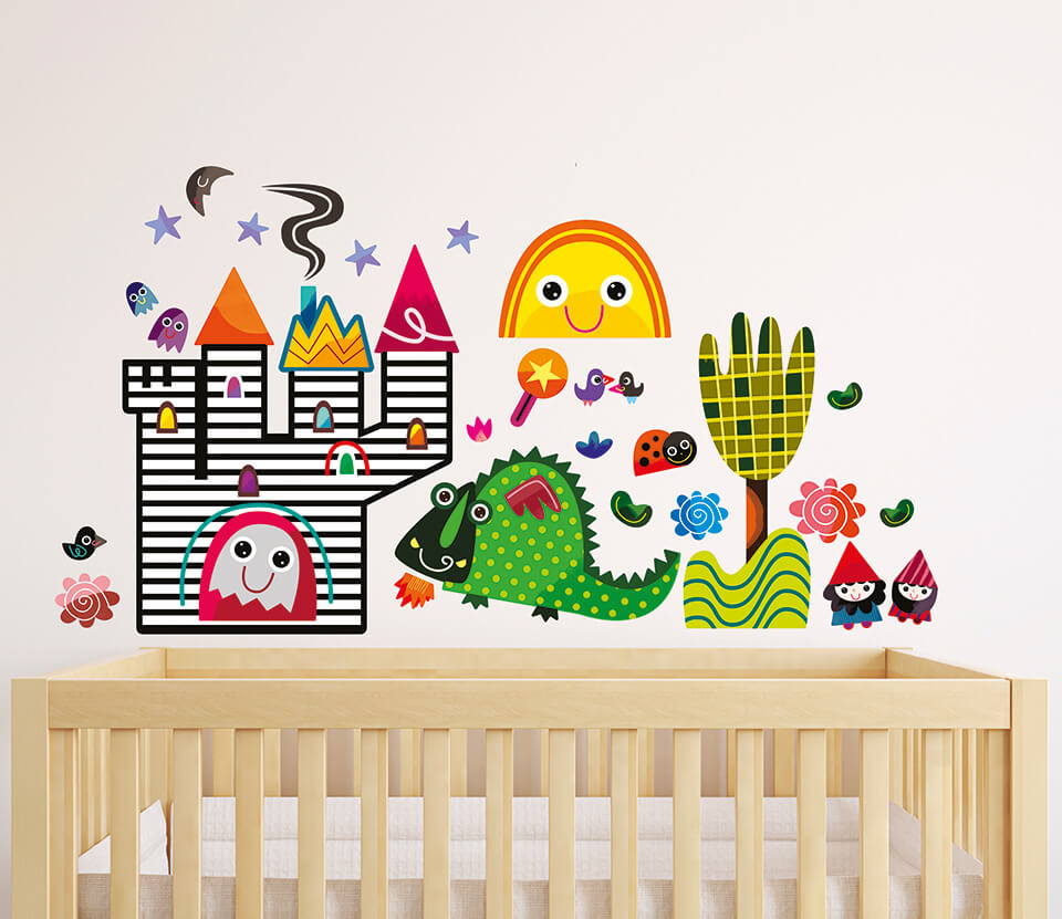 Witty Doodle Nursery Wall Stickers ... Part 52