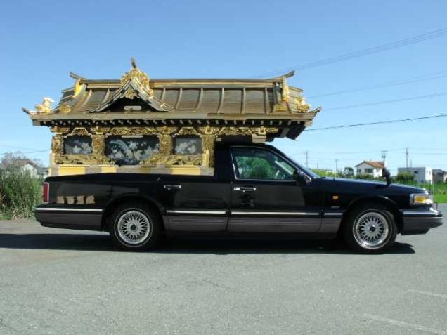 Japanese Buddhist hearse