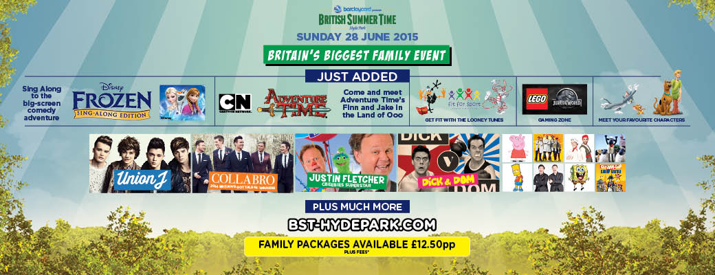 BST Hyde Park Family Event discount tickets