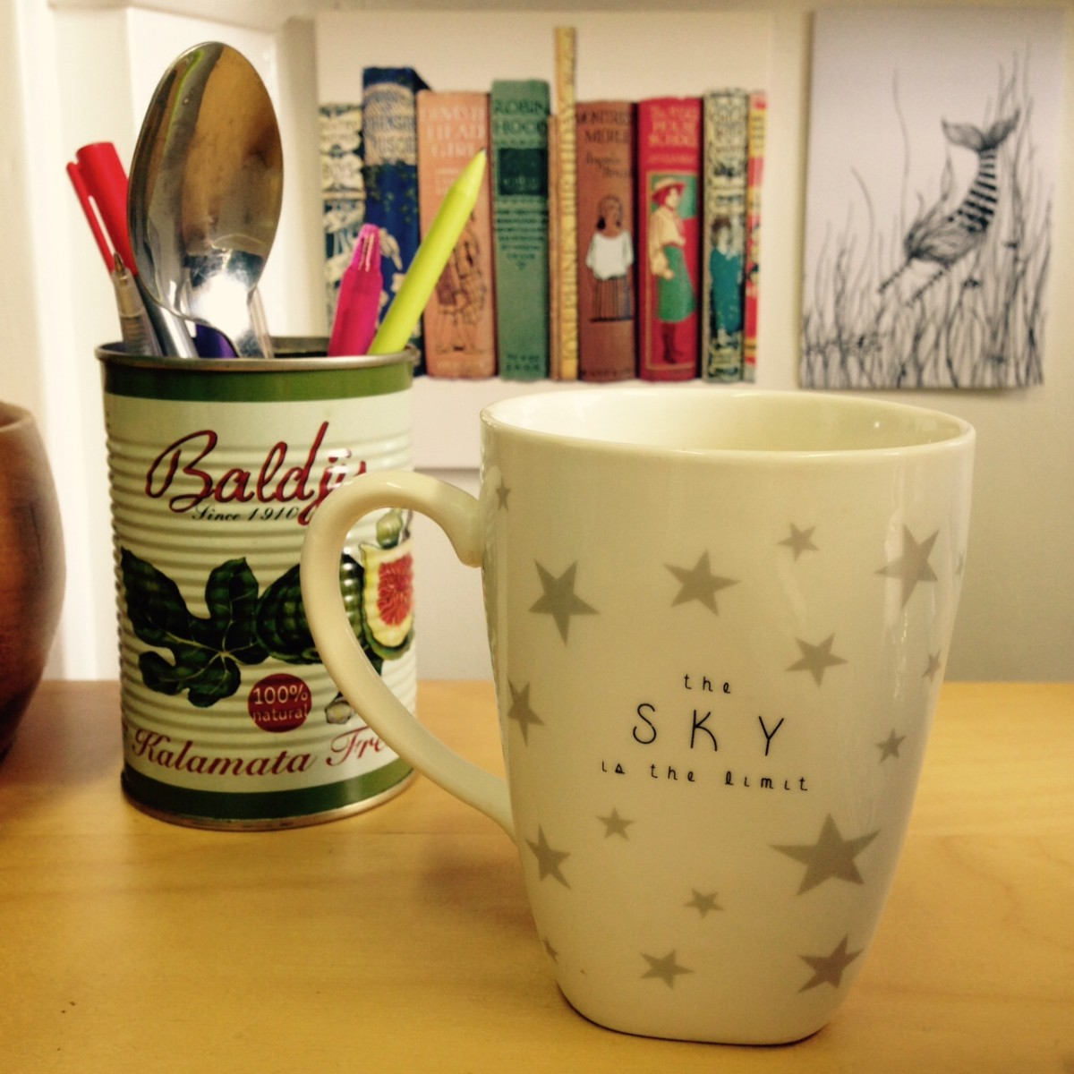 blogger work space