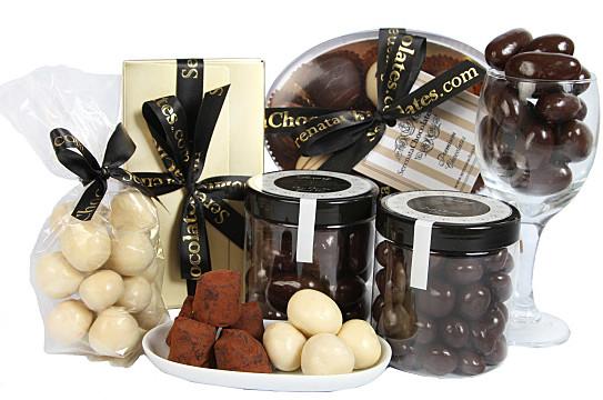 chocolate hamper delivered