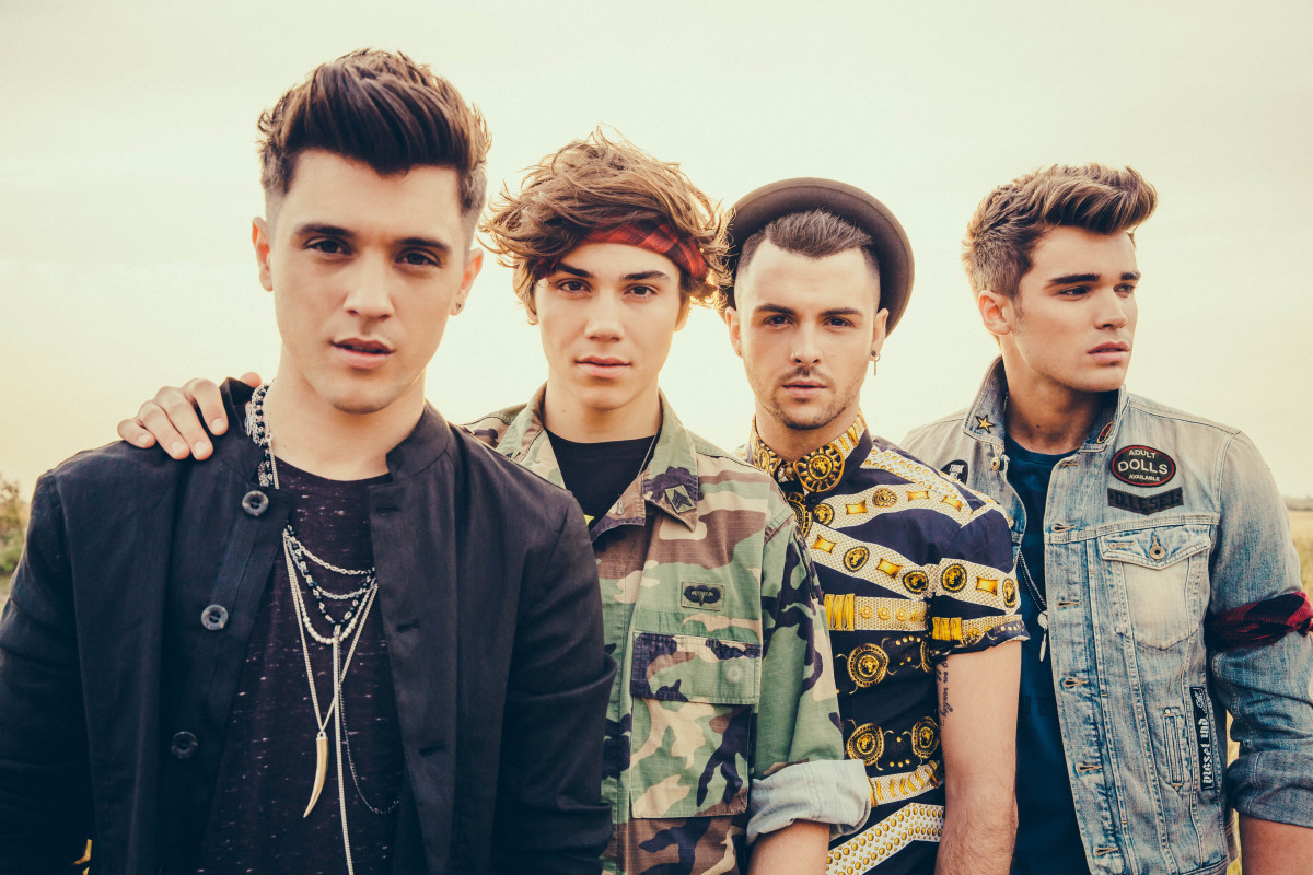 Union J at BST Hyde Park festival