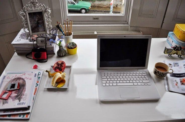 blogger workspace