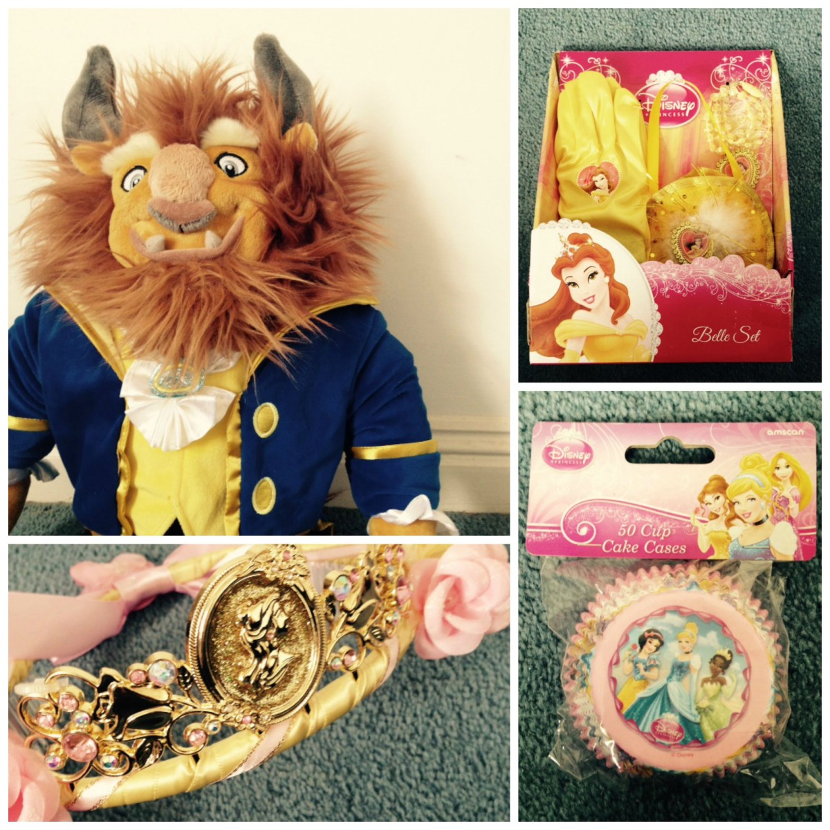 beauty and the beast themed party ideas