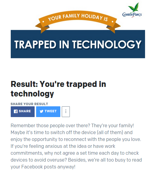technology addiction quiz