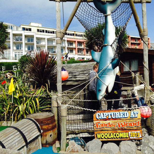 Woolacombe crazy golf