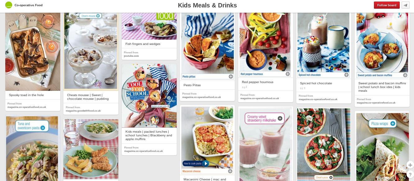 healthy eating Pinterest