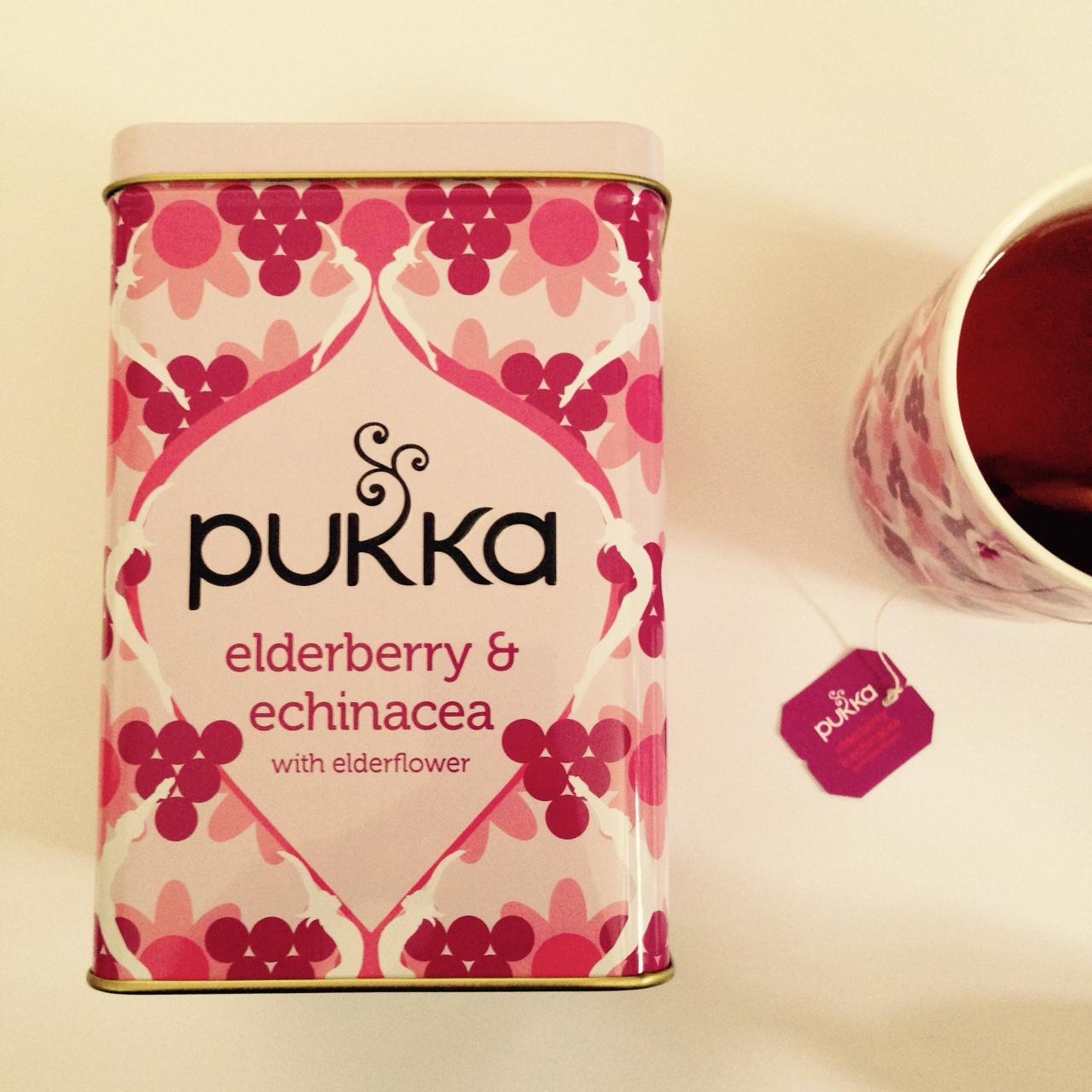 elderberry and echinacea tea