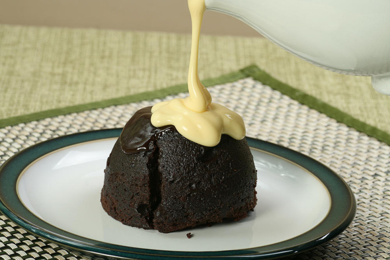custodemographic chocolate pudding and custard
