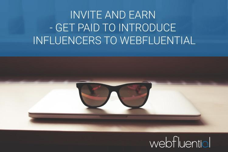 Webfluential blogger network