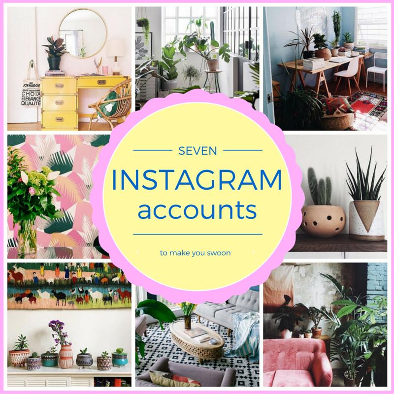 top interiors instagram accounts