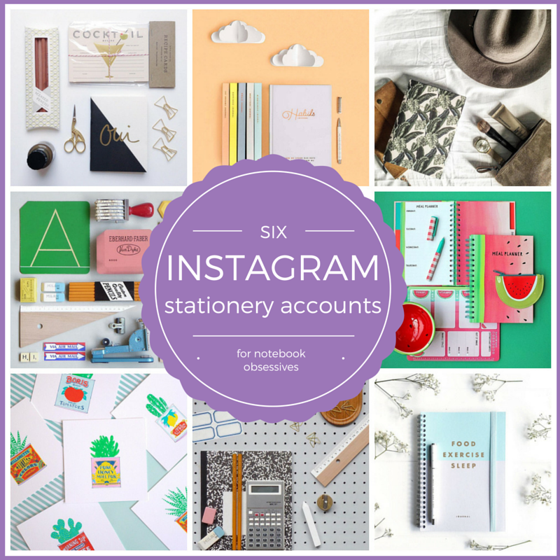 cool instagram stationery accounts