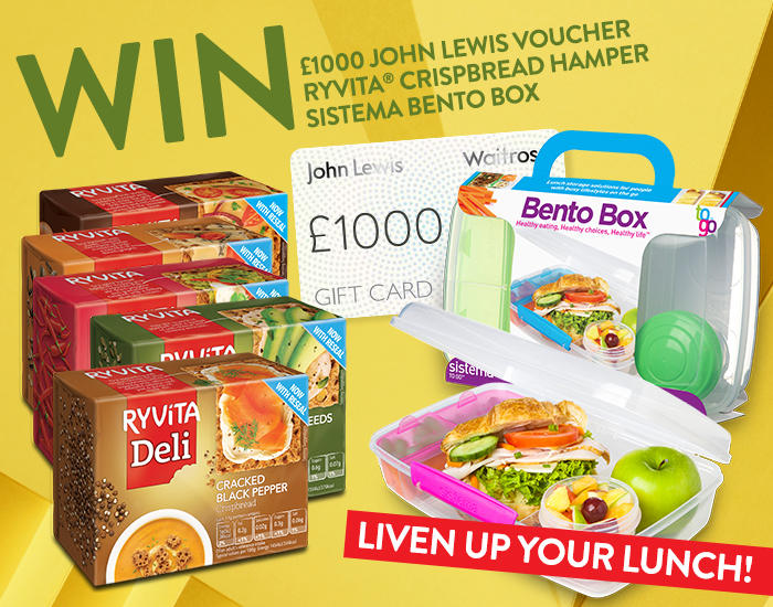 Ryvita John Lewis voucher competition