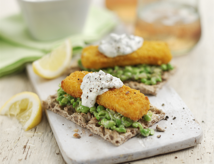 Ryvita fish finger recipe
