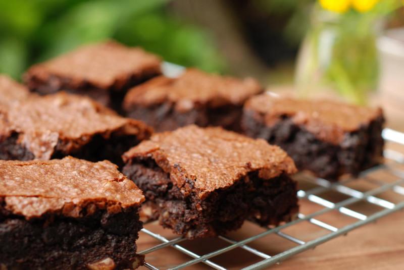 chocolate brownies self control over eating