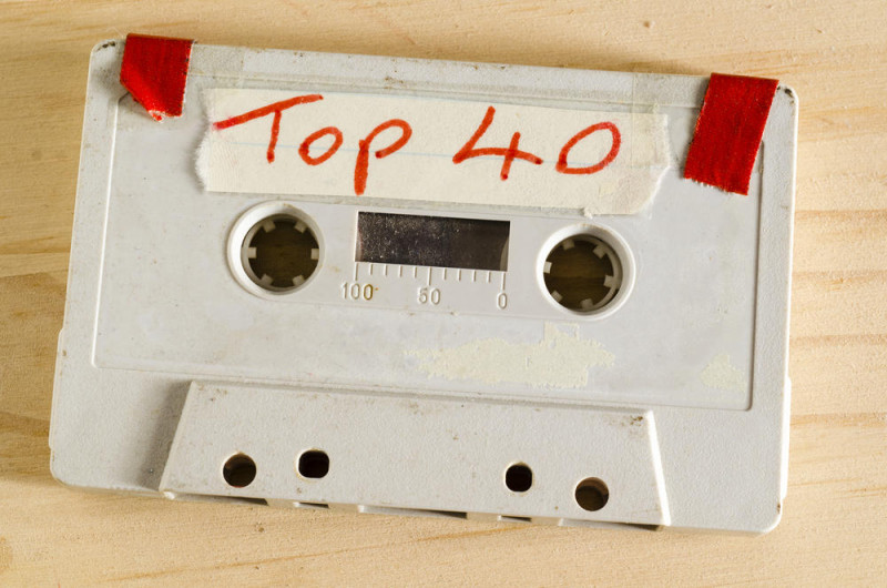 top 40 cassette music 90s