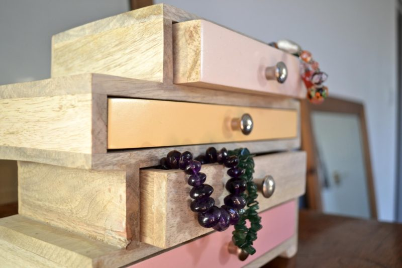 Oliver Bonas Jewellery box dressing table makeover tidying tips