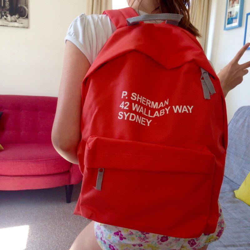 Disney backpack DisneyLife app