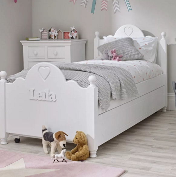Ollie and Leila personalised child's bed