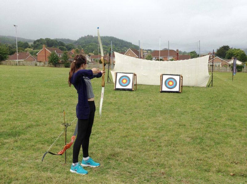 axe throwing south west outdoor festival national trust channel adventure