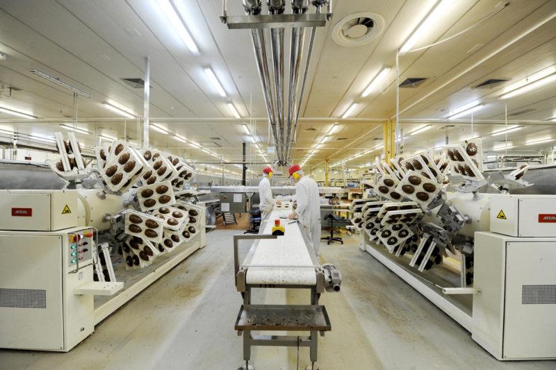 Thorntons chocolate factory