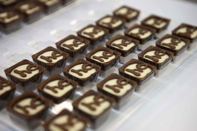 Thorntons personalised chocolates