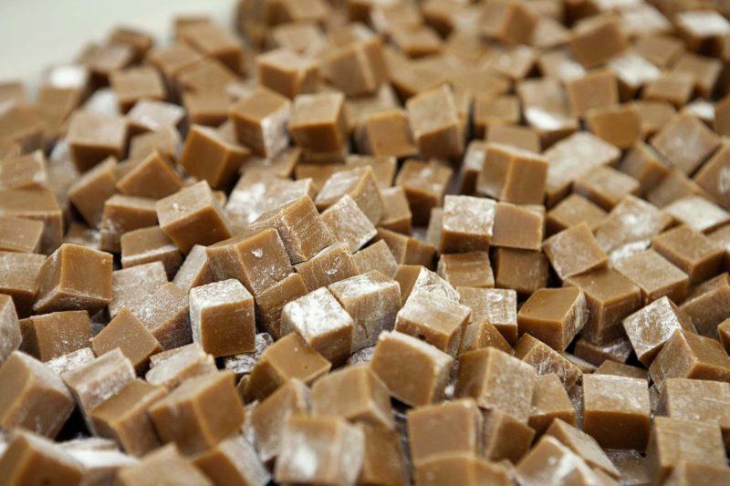 Thorntons fudge cubes