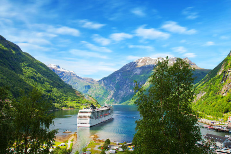 Norwegian fjords dream retirement Aviva Pensions shape my future tool