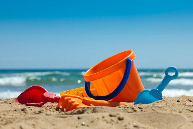 bucket and spade family holiday, family gets bigger