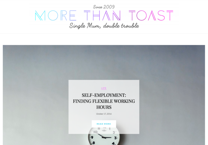 more than toast blog