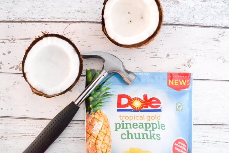 dairy free pineapple and coconut smoothie recipe